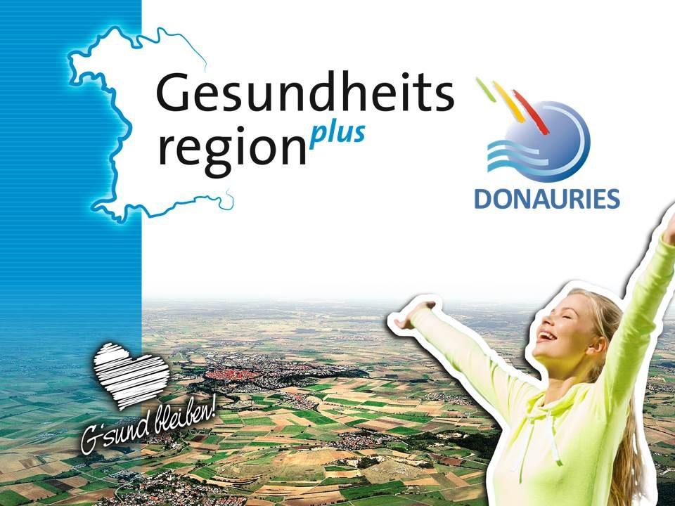 Gesundheitsregionplus Luftbild Nördlinger Ries G'sund bleiben