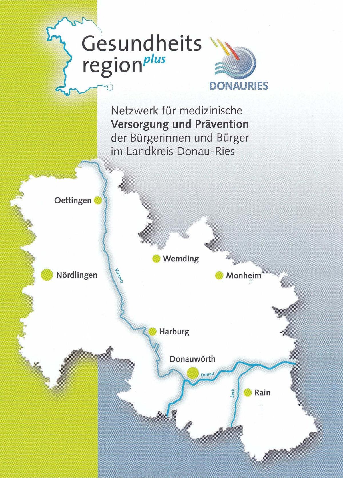 Einrichtungen Gesundheitsregion Donauries